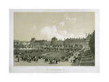 The Tuileries Palace Giclee Print by Philippe Benoist