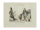 Le Bon Genre: Observations About the Parisian Fashion and Customs Giclee Print by Pierre Antoine Leboux De La Mesangere