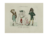 Le Bon Genre: Observations About the Parisian Fashion and Customs Giclee Print by Pierre Antoine Leboux De La Mesangere