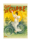 Advertising Poster Forle Globe Bicycles Giclee Print by E. Clouet