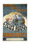 Avertising Poster for Rudge Bicycles Giclee Print by  Appel