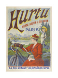 Hurtu, Hautin et Diligeon Paris Giclee Print by  Hurtu