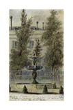 Parisian Fountains Giclee Print by Jean-Marie Amelin