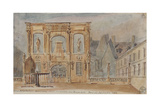 Parisian Fountains Giclee Print by Jean-Marie Amelin