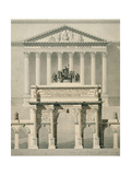 The Carrousel Triumphal Arch Giclee Print