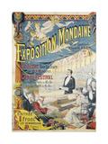 Exposition Mondaine, Salle Boudreau .Ancien Eden., Concert TousLes Jours Giclee Print by Emile Levy