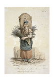 Lavender Seller Giclee Print by Carle Vernet