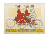 Cycles Cottereau Giclee Print by  Vincenti