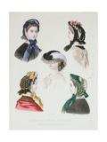 La Mode Illustree Giclee Print by Anais Toudouze