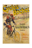 Advertising Poster for Rochet Bicycles Giclee Print by Lucien Lefèvre