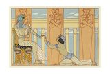 The Romance of a Mummy Giclee Print by Georges Barbier