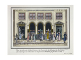 Passage Des Panoramas Giclee Print by  Grignon