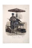 Chestnut Seller Giclée-Druck von Carle Vernet