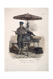 Chestnut Seller Giclee Print by Carle Vernet