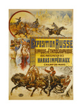 Russian Horse-Show and Ethnographic Exhibition at the Champ-De-Mars Giclee Print by Nicolas Tamagno