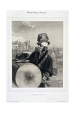 Comic or Quaint Musicians: the Itinerant Orchestra Giclee Print by  Gavarni
