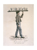 Man Selling Plaster Figurines Giclee Print by Carle Vernet