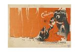 La Chanson a Montmartre Giclee Print by Jules Alexandre Grun