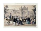 Promenades in Paris Giclee Print by Charles Vernier