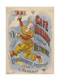 Cafe Maillart, 2 Grande Place, Bethune Giclee Print by  Joseph B. and B Faverot