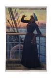 1900 World Fair, the Mareorama, Champ-De-Mars Giclee Print by Hugo D'Alesi