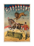 Hippodrome Circus Giclee Print by Charles Levy