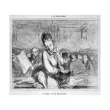 The Muse of the Brasserie Giclee Print by Honore Daumier