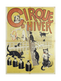 Winter Circus Giclee Print by Gil Baer