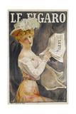 Le Figaro Newspaper Giclee Print by Michel Simonidy
