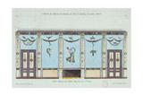 Dining Room of the Palais Imperial De Saint-Cloud Giclee Print by Pierre Antoine Leboux De La Mesangere