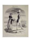 Marital Habits Giclee Print by Honore Daumier