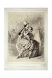 Ball in Paris Giclée-Druck von Charles Vernier