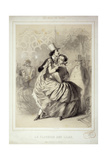Ball in Paris Giclee Print by Charles Vernier