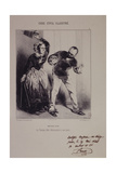 The Wife Shall Obey Her Husband Giclee Print by Henry Monnier