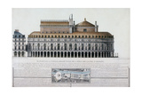 Architecturical Project Giclee Print by Amédée Couder