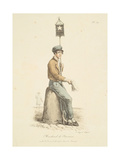 Newspaper Seller Giclee Print by Carle Vernet