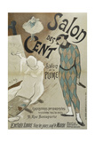 Salon des Cent, Salon de la Plume, 31 Rue Bonaparte Giclee Print by Henri Gabriel Ibels