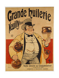 Advertising Poster Giclee Print by Albert Guillaume