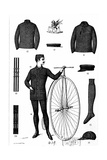 Penny-Farthing Clothing for Men Giclee Print