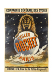 Advertising Poster for Rochet Bicycles Giclee Print by E. Clouet