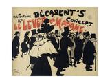 Decadent's Concert,Le Lever De Madame. Poster Giclee Print by Jules-Alexandre Grün
