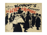 Decadent's Concert,Le Lever De Madame. Poster Giclee Print by Jules Alexandre Grun