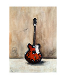A Guitar Named Triton Photographic Print by Jill English