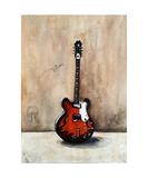 A Guitar Named Triton Photographic Print by Jill English