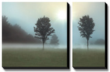 Two Trees & Sunburst Prints by Monte Nagler