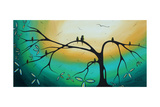 Family Perch Art by Megan Aroon Duncanson