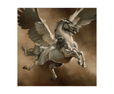 Pegasus Photographic Print by Heather Theurer
