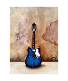 A Guitar Named Neal Photographic Print by Jill English