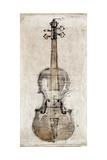 Violin Study, Front Lámina giclée premium por Symposium Design
