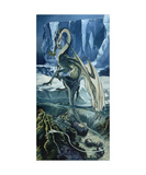 Water Dragon Photographic Print by Heather Theurer